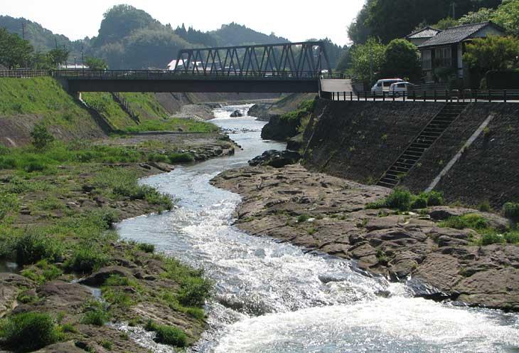 玉来川の下流部