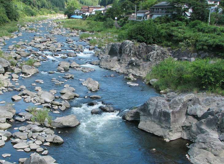 大山川の本流部