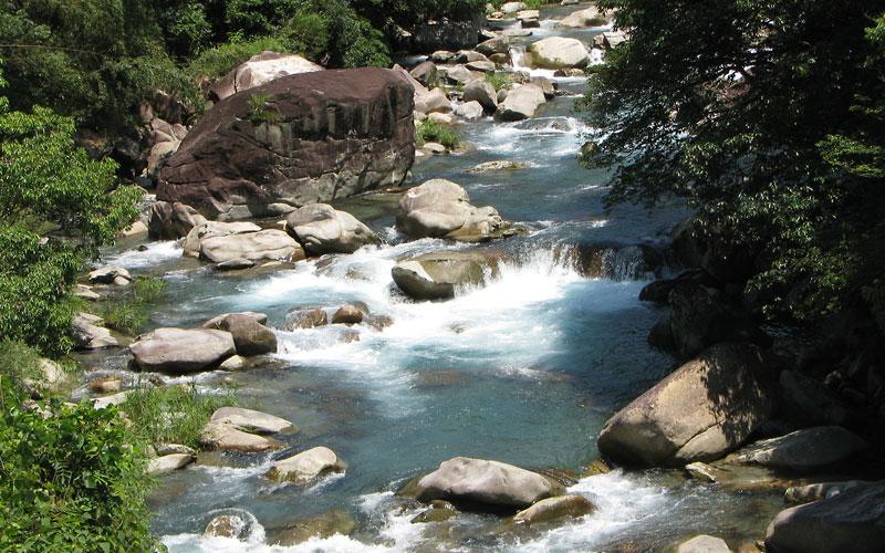 五ヶ瀬川水系の一支流