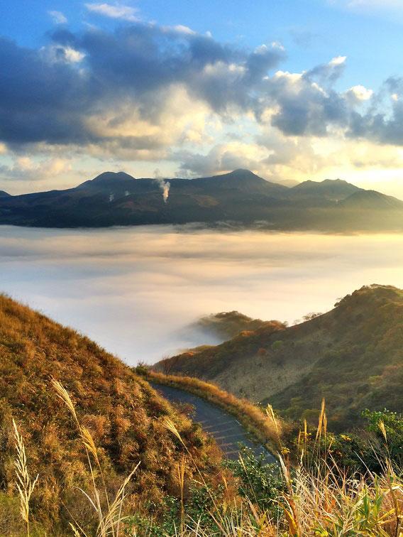 秋の阿蘇五岳