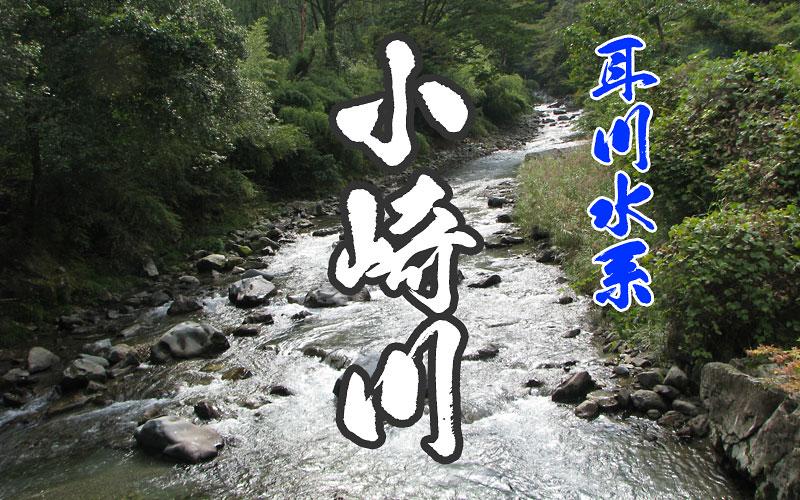 小崎川の渓流釣り