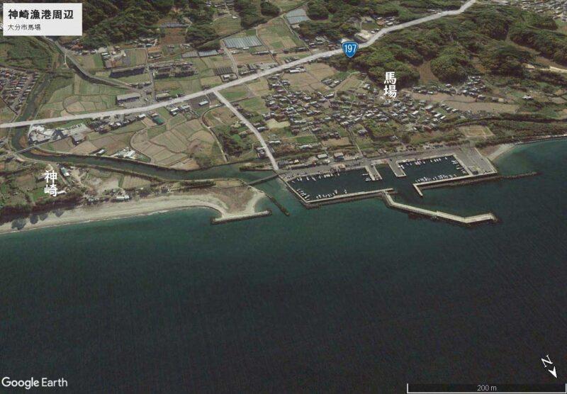 神崎漁港周辺