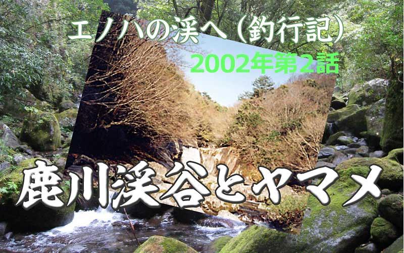 鹿川渓谷とヤマメ